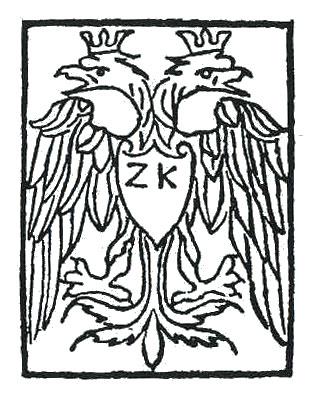 [Το τυπογραφικό σήμα του Ζαχαρία Καλλιέργη.]