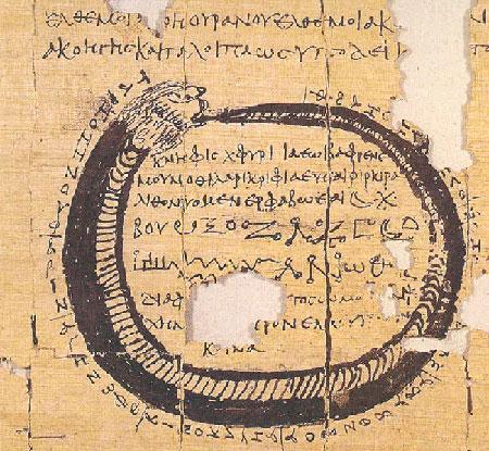 [Μαγικός Πάπυρος, P. Lond. 122=PMG VII, 579-690. Σημαντικότατα τεκμήρια για την εξέλιξη της Κοινής προσφέρουν τα πολυάριθμα μαγικά κείμενα (φυλακτήρια, κατάδεσμοι, αγωγαί κτλ).]