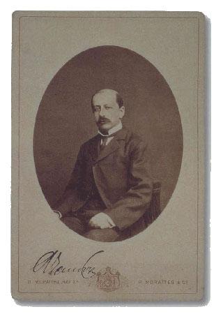 [Ο πρωθυπουργός Χαρίλαος Τρικούπης, το πολιτικό πρόγραμμα του οποίου έδωσε το έναυσμα για τις εκσυγχρονιστικές τάσεις της λογοτεχνίας και της γλώσσας (γενιά του 1880).]